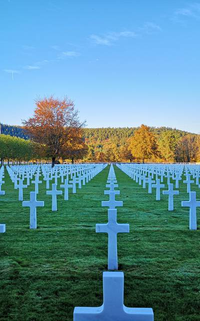 Amerikanischer Friedhof - Kulturerbe Epinal - Geschichte Vogesen