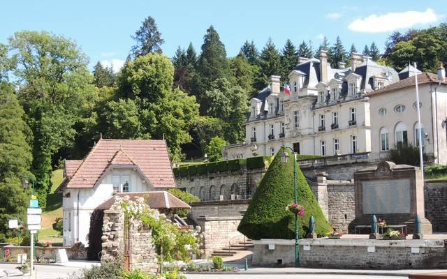 Das Schloß der Brauereimeister von Xertigny