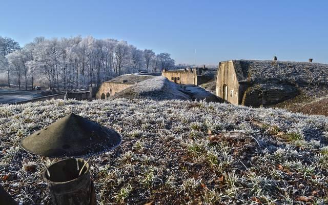 Das Fort von La Grande Haye in Golbey