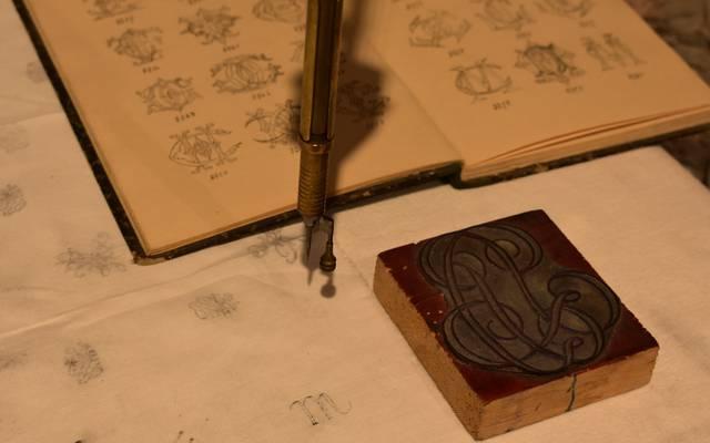 Das Heimatmuseum mit Ausstellung zu Stickerei und Metallindustrie