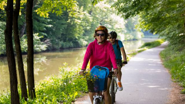 Mit dem Fahrrad durch die Vogesen