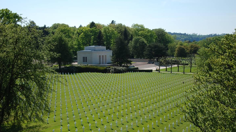 Der amerikanische Friedhof