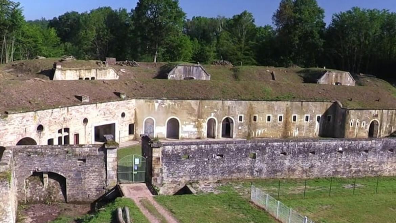 Das Fort von La Grande Haye