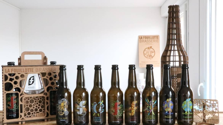 Etappe 1: Tag 1 - 10 h 30 Brauerei La Fouillotte
