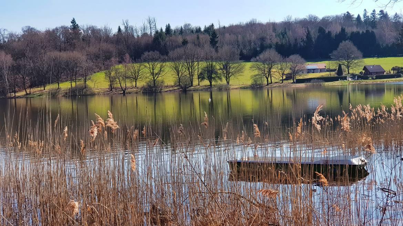 Der See von Bouzey