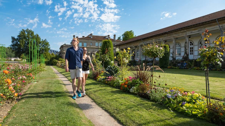 Etappe 4: 16 h 30 - Spaziergang in dem Maison-Roseraie von Épinal