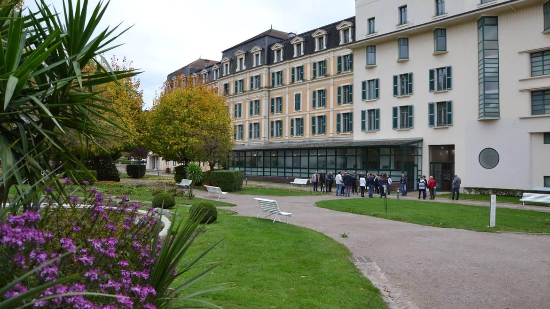"""Etappe 3: 15 h 00 - """"Spa Liberté"""" im Thermalbad von Bains-les-Bains"""