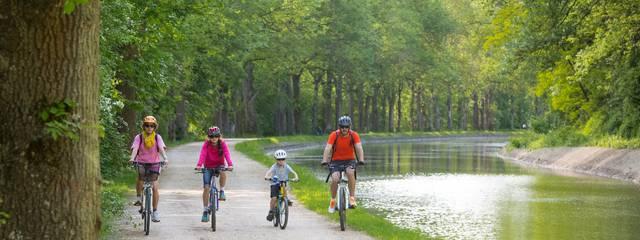 Radfahren im Herzen des Départements