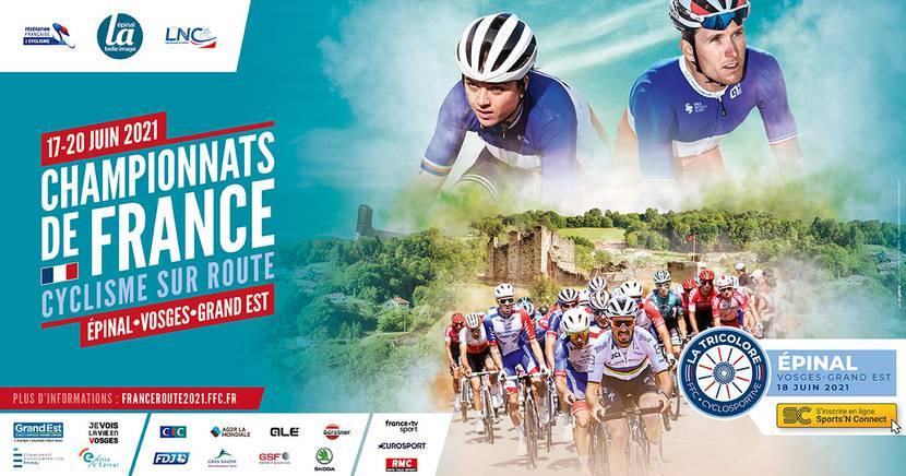 Französische Meisterschaften im Straßenradsport 2021