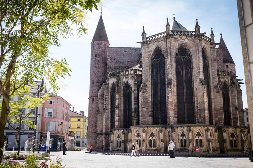 Basilika Saint Maurice - Basilika Epinal - Kulturerbe Epinal