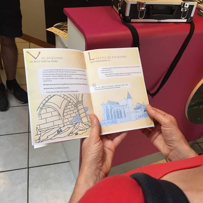 Enquête Game Epinal - Kulturerbes Epinal - Cluedo in Lebensgröße - Fluchtspiel in der Stadt - Familienaktivität