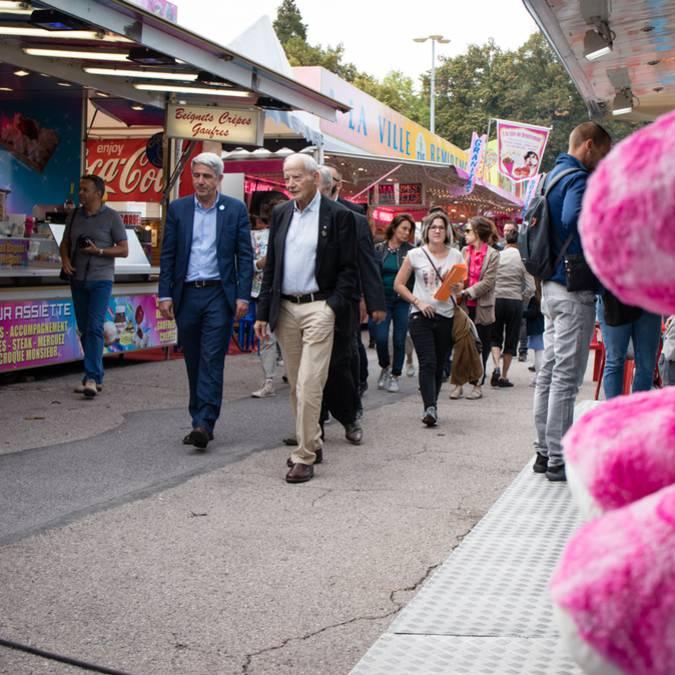 Einweihung des Mauritius Jahrmarkts - Feuerwerk Fest von Saint-Maurice Epinal - Kirmes Epinal - Aktivitäten Epinal - Karussell Epinal
